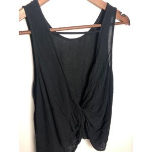Chloe & Katie Twist Back Tank Top